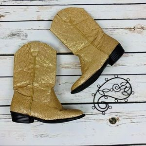 Nordstrom Boots Size 12 Sparkle Cowboy Boots